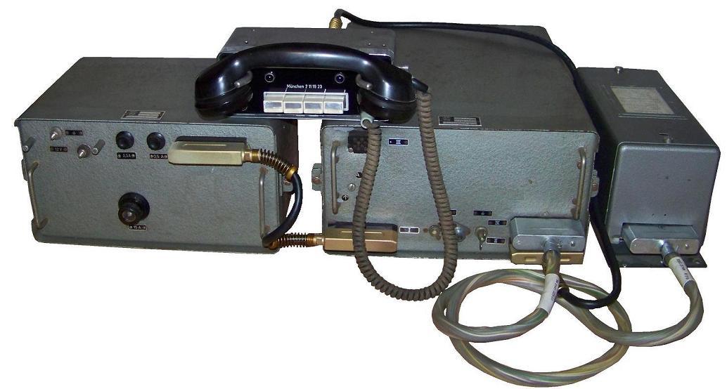 Erstes Autotelefon