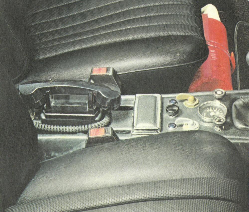 Mercedes W116 Bergefahrzeug