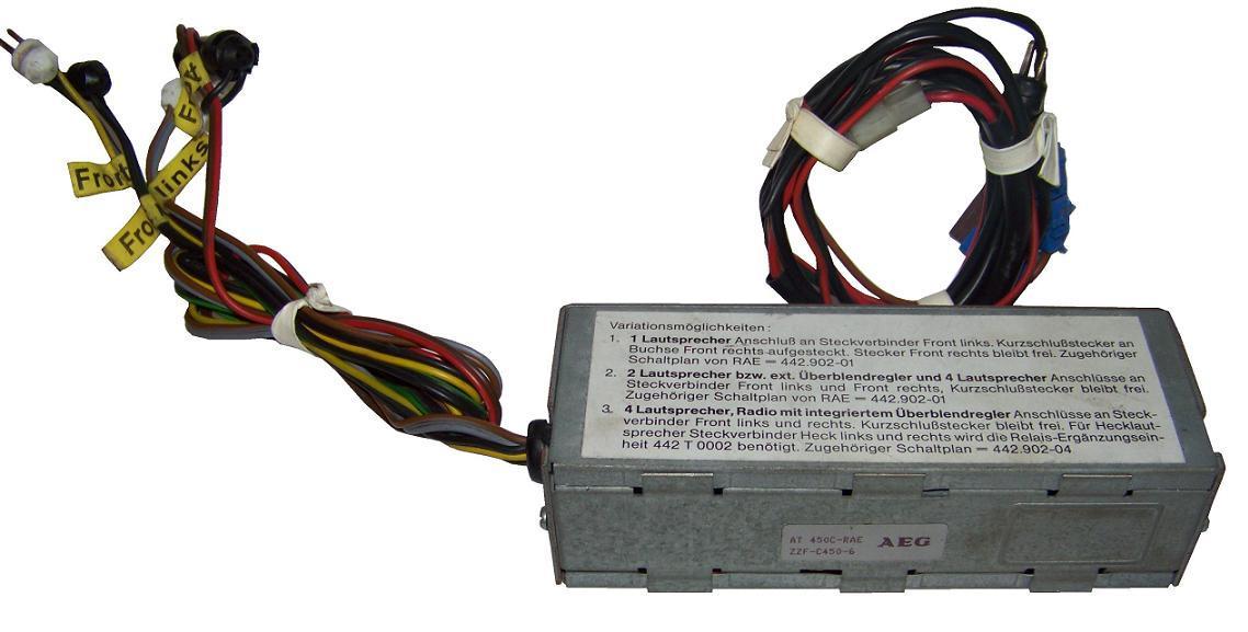 AEG AT450-EBG Autotelefon C-Netz